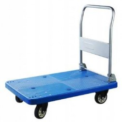 Plastic Flatbed Trolley 590 x 895mm 300kg