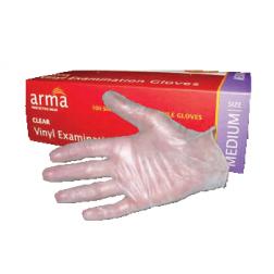 Clear Vinyl Gloves Low Powder