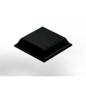 3M SJ5508 Bumpon Tapered Square Black