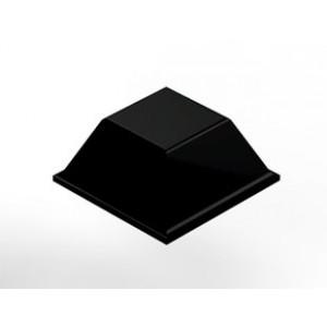 3M SJ5018 Bumpon Tapered Square Black