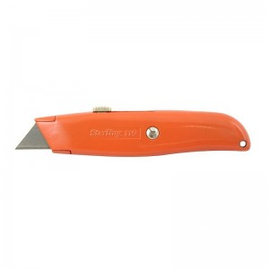 Metal Retractable Trimming Knife 12/pack