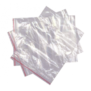 Resealable Press-Seal Poly Bags (Heavy Duty)