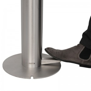 Foot Operated Hand Sanitiser Station