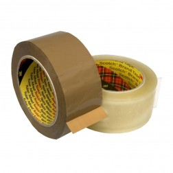 3M 370 Scotch Poly Film sealing tape clear or brown