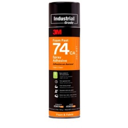 3M Foamfast 74 Orange Adhesive Spray Can 480g