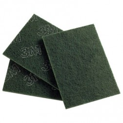 3M 96 Scotch Bright Scourers Green 150 x 230mm 50/ctn