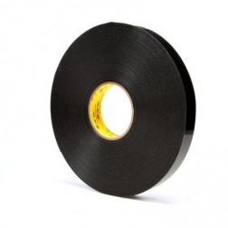 3M 4949 VHB Acrylic Foam Tape Black