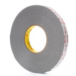 3M RP25 D/Sided VHB Tape Grey 0.6mm Thick