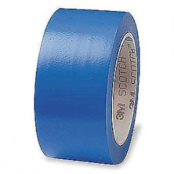 3M 471 Lane Marking PVC Tape Blue