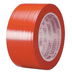 3M 471 Lane Marking PVC Tape Red