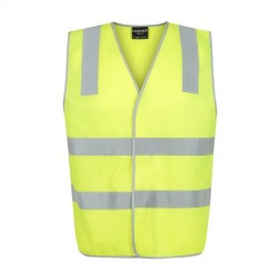 Safety Vest Day/Night Reflective Yellow