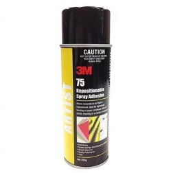3M 75 Repositionable Clear Adhesive Can 290g