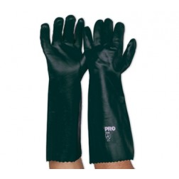 Green PVC Double Dipped Glove