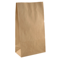 Brown Block Bottom Paper Bags